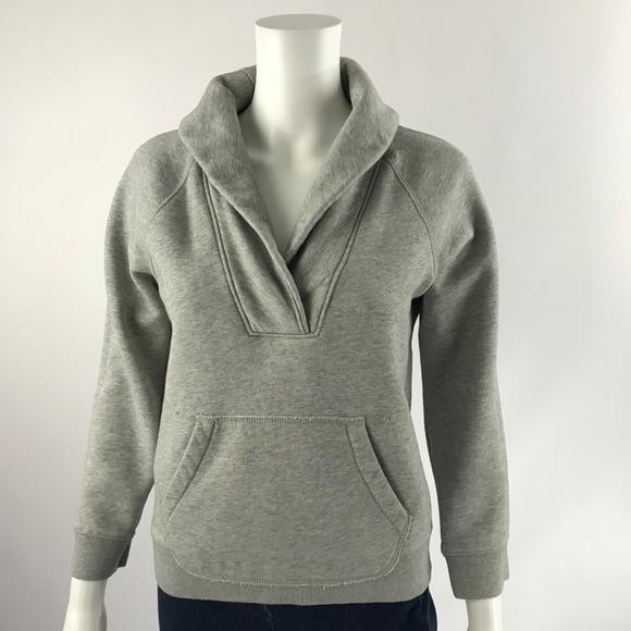 0c4aaec0034 J. Crew Tops - JCrew Sweatshirt Womens Size Small Shawl Collar